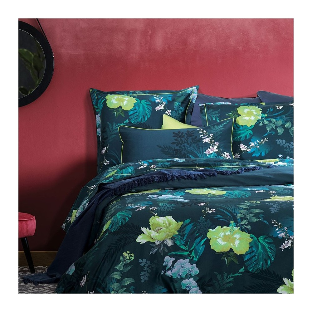 parure de lit jardin tropical garnier thiebaut. Black Bedroom Furniture Sets. Home Design Ideas