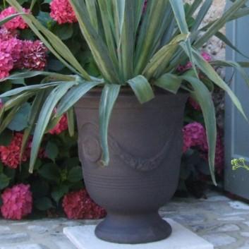 vase anduze bleu terre figui re. Black Bedroom Furniture Sets. Home Design Ideas