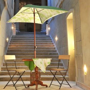 Parasol design Toiles de Jouy