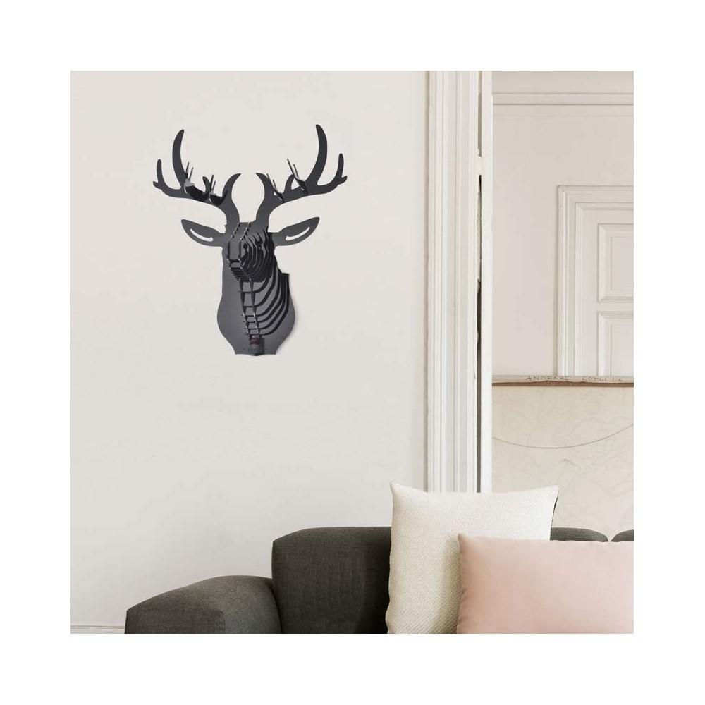 t te de cerf. Black Bedroom Furniture Sets. Home Design Ideas
