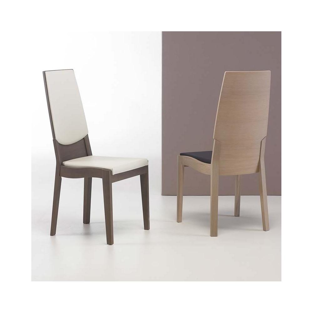 chaise bois contemporaine. Black Bedroom Furniture Sets. Home Design Ideas