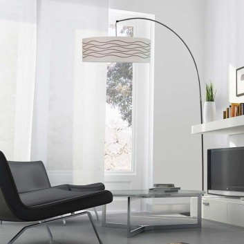 Lampadaire Red'Or Luz Eva