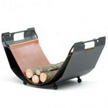 Réserve à bois design