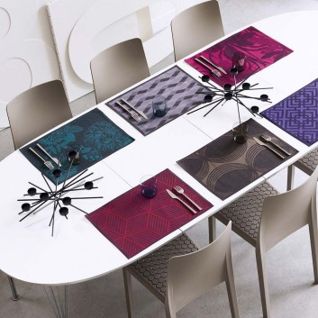 Set Table Jacquard Français (x4)