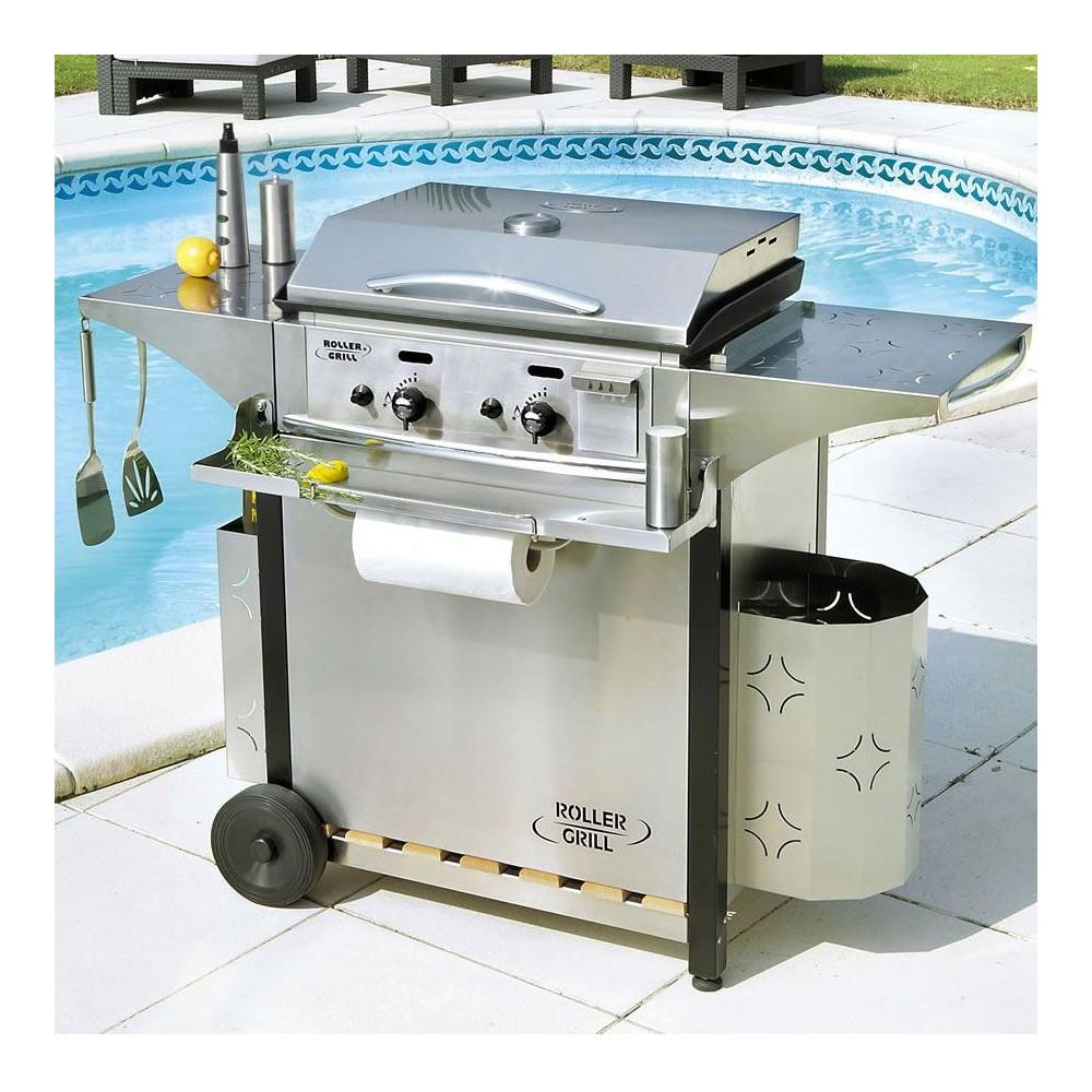 plancha roller grill 600 gaz. Black Bedroom Furniture Sets. Home Design Ideas