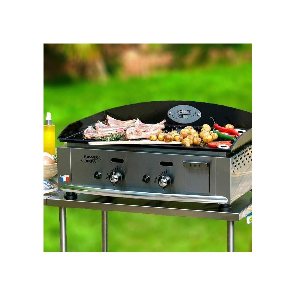 Barbecue Gaz Sans Plancha plancha roller grill 600 gaz