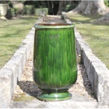 Jarre à huile Vert Anduze Poterie de la Madeleine
