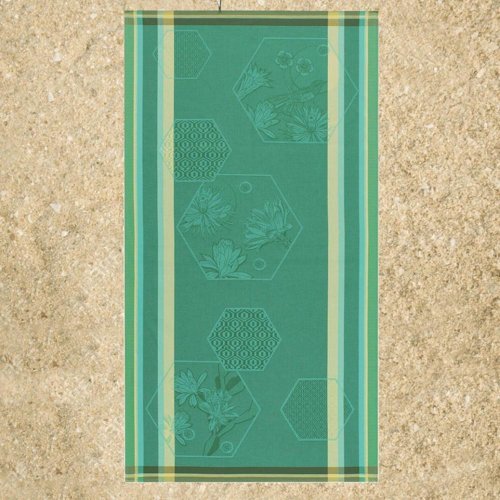 le jacquard honeycomb oiseau de paradis beach towel. Black Bedroom Furniture Sets. Home Design Ideas
