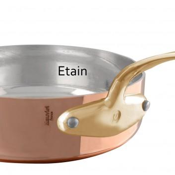 Sauteuse étamée bronze Tradition Mauviel