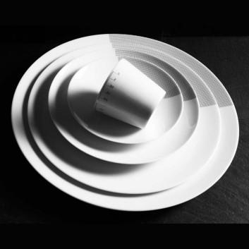 Assiette Non sans Raison Porcelaine