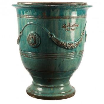 vase fleur de lys poterie madeleine. Black Bedroom Furniture Sets. Home Design Ideas