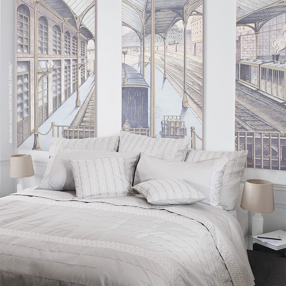 housse de couette rice fields garnier thiebaut. Black Bedroom Furniture Sets. Home Design Ideas